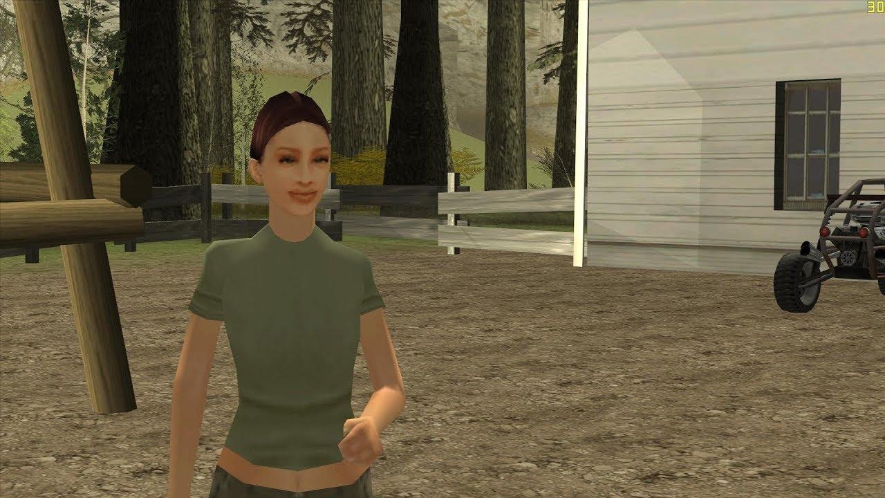 GTA-SA-Modificaciones: Skin Female from The Sims 4 - GTA SA